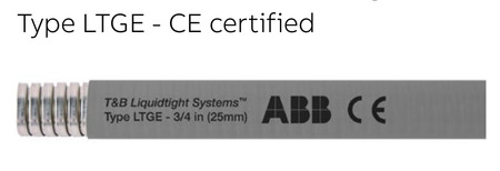 Type LTGE - CE certified