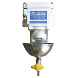 SWK-2000-5 Single, Clear Bowl with Metal Heat Deflector